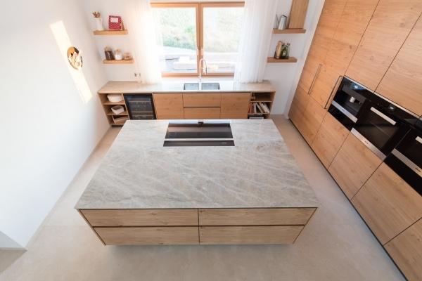 EWE Küche Naturstein Küchenarbeitsplatte Granit Victoria Falls